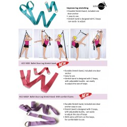 Ballet door leg stretch band