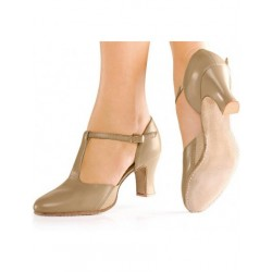 SUEDE SOLE LEATHER DANCE SHOES